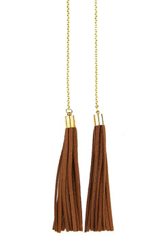 TREZO LAVI Leather Necklace
