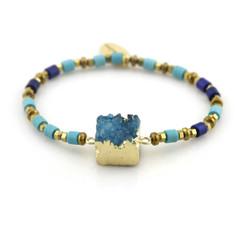 TREZO LAVI Druzy Stone Bracelets