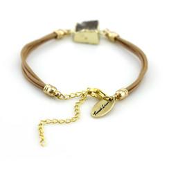 TREZO LAVI Druzy Leather Bracelets
