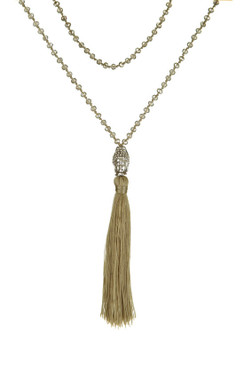 TREZO LAVI Silver Buddha Necklace