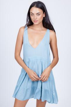 ACACIA Havana Dress in Sky