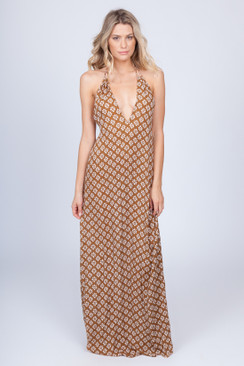 2017 ACACIA Sumba Dress in Daisy Block