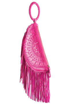 2017 TREZO LAVI Soleil Bag in Deep Pink