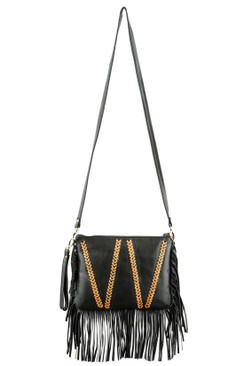 2017 TREZO LAVI Santana Bag in Black