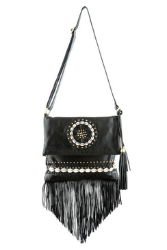 TREZO LAVI Tahiti Bag in Black