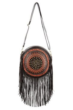 2017 TREZO LAVI Dreamcatcher Bag in Dark Coco
