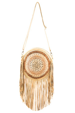 2017 TREZO LAVI Dreamcatcher Bag in Natural