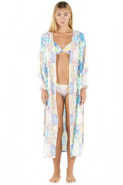 SAPIA SIMONE Pool Robe in Crystals