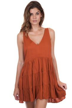 ACACIA Havana Dress in Mai Tai