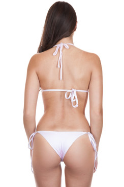 FRANKIES BIKINIS Brie Bottom in Rose Water