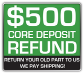 REFUNDABLE CORE DEPOSIT $500