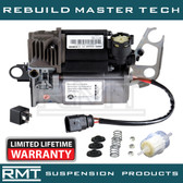Porsche Cayenne (957) 2007-2010 OEM NEW WABCO Air Suspension Compressor With Electrical Plug & Relay Kit (WITHOUT Thermal Sensor & Intake Hose) (95535890101) (K04L-3020-TOCA)