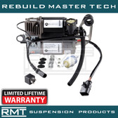 Porsche Cayenne (957) 2007-2010 OEM NEW WABCO Air Suspension Compressor with Thermal Sensor, Electrical Plug & Relay Kit (95535890101) (K00L-3020-TOCA)