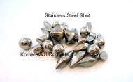 Stainless shot - Used for tumbling and cleaning jewellery in a tumbler.  Shop Jewellery suppliers here in Canadian dollar prices!