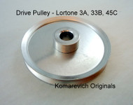 Drive Pulley for 3A Lortone Tumbler