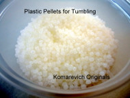 Plastic Pellets - Rock Tumbling