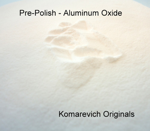 Pre- Polish - Rock Tumbling - Aluminum Oxide