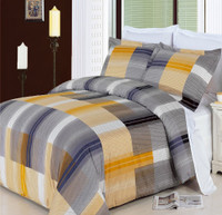 Amber  8-Pieces 100% Egyptian Cotton Bedding Set