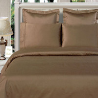 100% Bamboo Taupe Duvet Cover Sets