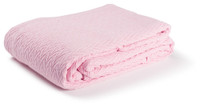 Charisma Cotton Throw - Pink