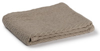 Charisma Cotton Throw  - Taupe