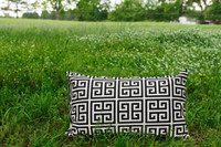 Amy Black Lumbar Pillow