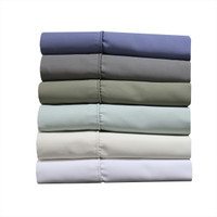 Cotton Blend 1000 Thread Count Solid King Sheet Sets