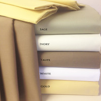 "100% Combed Cotton 600 Thread Count 22"" Deep Pocket King Sheet Set"