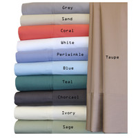 Bamboo Cotton Collection Blend California King Sheet Set