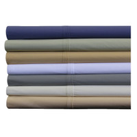100% Percale Cotton By Abripedic Standard/Queen Set of 2 Pillowcases