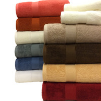 Royal Tradition 100% Combed Cotton 6 Piece Towel Set