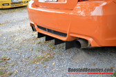 Boosted Beauties 2011-2014 WRX/STI Sedan Rear Diffuser