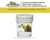CONCRETE CLEANER POWDER WITH PINE
