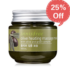 Innisfree - Olive Heating Massage Mask 100ml