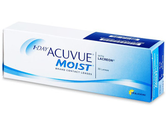 1-Day Acuvue MOIST with Lacreon- 30 Lenses