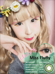 I.Fairy Miss Fluffy Green *New*