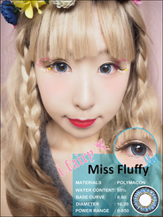I.Fairy Miss Fluffy Blue *New*