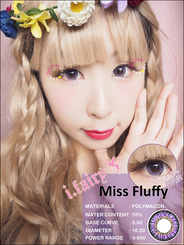 I.Fairy Miss Fluffy Violet *New*