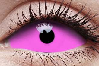 I.Fairy UV Raiden Pink Sclera Contact Lens 22mm