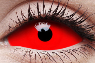 I.Fairy Red Sclera Lens Cyclop 22mm