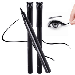 1PC Beauty Cat Style Black Long-lasting Waterproof Liquid Eyeliner