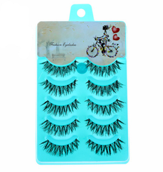 5 Pairs Natural Soft Handmade Eye Lashes