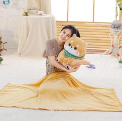 Cute Shiba Dog Blanket Plush Pillow Sweetheart gift for girlfriend * 50 cm