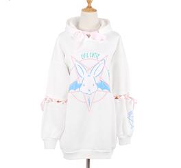 Kawaii Rabbit Pentacle Hoodies Sweater