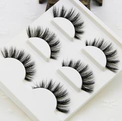 ( 3 Pairs ) Handmade Mink Eyelashes