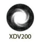 Geo Super Diva Black Lens XDV200 14.8mm