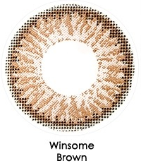 FRESHKON ALLURING EYES WINSOME BROWN ( MONTHLY )