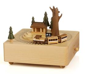 Handmade Wooden Taiwan Alishan Music Box