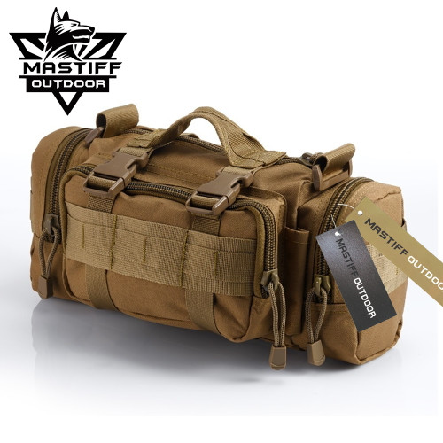 Mastiff Outdoor Camerabag Tactical MOLLE Military Sling Fanny Waist Pack