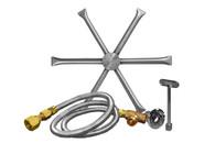 "Burning Spur Kit 22"" Stainless Steel"